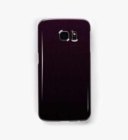 Carbon fibre purple pattern Samsung Galaxy Case/Skin