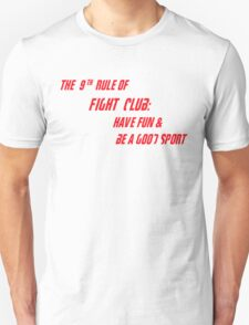 9th Rule of Fight Club T-Shirt