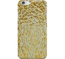 3D Cube Effect - Gold iPhone Case/Skin