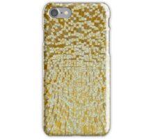 3D Cube Effect - Gold iPhone Case/Skin