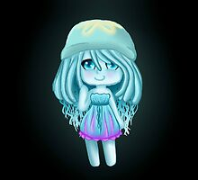 Jelly Fish Girl- Chibi by Ivegotartitude
