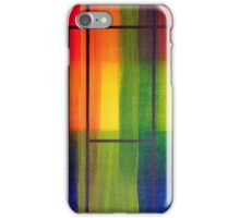 Mondrians Tartan iPhone Case/Skin