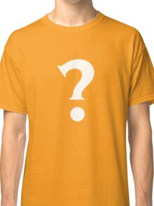 Question Mark - style 7 Classic T-Shirt