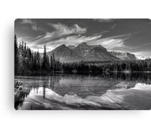 Herbert Lake in grey Canvas Print