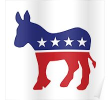 Democrat Original Donkey Poster
