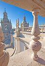 São Vicente de Fora terrace and bell towers by terezadelpilar ~ art & architecture