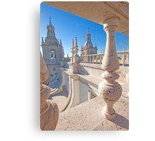São Vicente de Fora terrace and bell towers Canvas Print