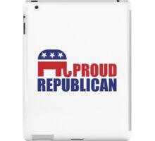 Proud Republican Elephant iPad Case/Skin