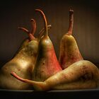 Still Life Pears by Julie Eustace