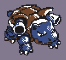 Blastoise 8 - bit by sleepingm4fi4