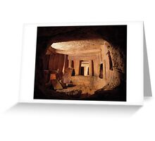The Hypogeum Greeting Card