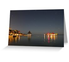 Sandals Royal Carribean by Moonlight - Jamaica #2 Greeting Card