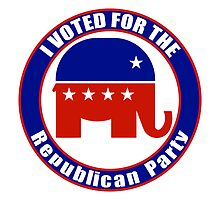 Voted for Republican Party by Republican