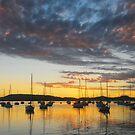 Still Waters Sunrise by George Petrovsky