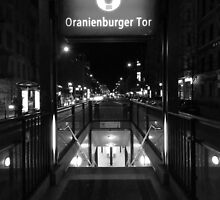 Oranianburger Tör, Berlin by GeejYork