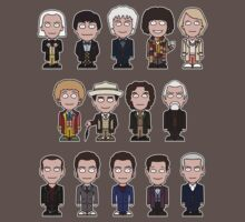 The Fourteen Doctors (shirt) by redscharlach