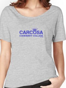 Carcosa Community College Blue Women's Relaxed Fit T-Shirt