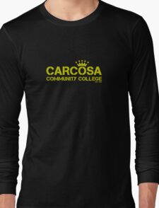 Carcosa Community College Yellow Long Sleeve T-Shirt