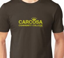 Carcosa Community College Yellow Unisex T-Shirt