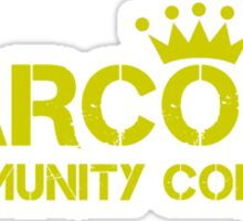 Carcosa Community College Yellow Sticker