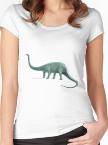 Diplodocus Women's Fitted Scoop T-Shirt