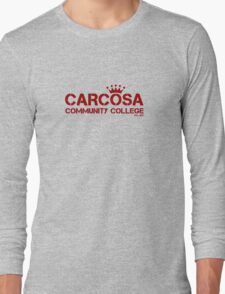 Carcosa Community College Red Long Sleeve T-Shirt