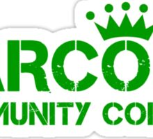 Carcosa Community College Green Sticker