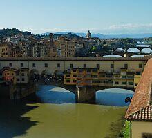 The Bridges of Florence, Italy by Georgia Mizuleva