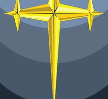 Three-Star Golden Goku  by Dondru