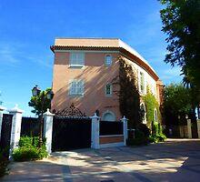 The Pink Villa Of Cap Ferrat by Fara
