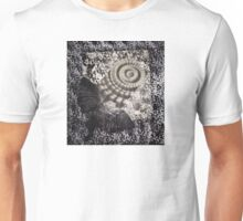 Black and White and Black and White Unisex T-Shirt