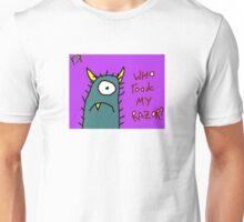 """Who Took My Razor?"" by Richard F. Yates Unisex T-Shirt"
