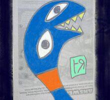 """Weird Snake"" by Richard F. Yates by richardfyates"
