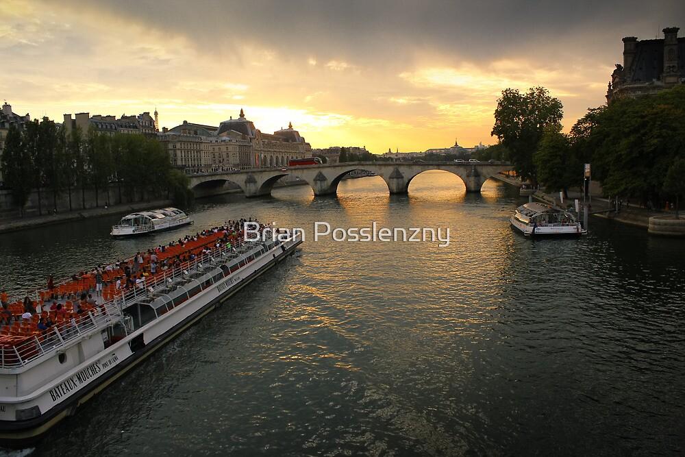 Paris bridge by bposs98