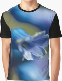 Bluebell Macro  Graphic T-Shirt