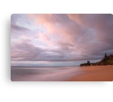 Wombarra sunrise Canvas Print