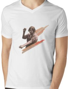 Worker  Mens V-Neck T-Shirt