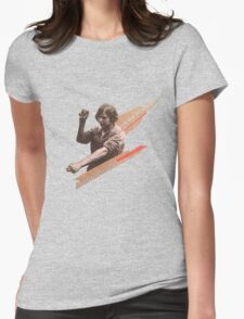 Worker  Womens Fitted T-Shirt