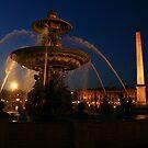 Paris fountain by bposs98