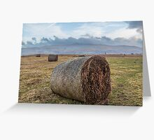 Hills of Brecon Beacons National park  Greeting Card