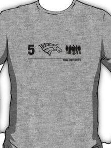 True Detective 5 Horsemen 2 T-Shirt