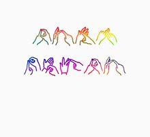 Deaf Pride BSL fingerspelling T-Shirt
