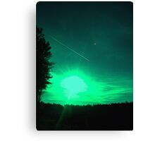 Missile Attack Canvas Print