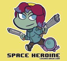 Space Heroine by hpkomic