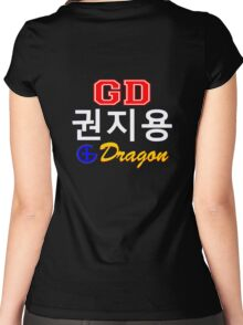 ♥♫Big Bang G-Dragon Cool K-Pop GD Clothing & Cases & Stickers & Bags & Home Decor & Stationary♪♥ Women's Fitted Scoop T-Shirt