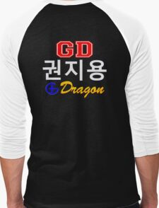 ♥♫Big Bang G-Dragon Cool K-Pop GD Clothing & Cases & Stickers & Bags & Home Decor & Stationary♪♥ Men's Baseball ¾ T-Shirt