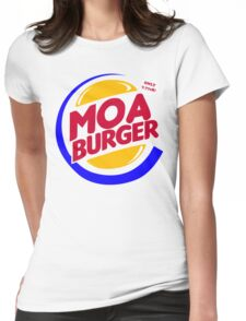 Moa Burger Womens Fitted T-Shirt