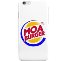 Moa Burger iPhone Case/Skin