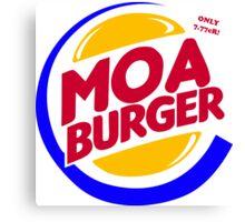 Moa Burger Canvas Print