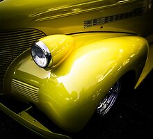 Yellow 1939 Chevrolet Tudor by Eti Reid